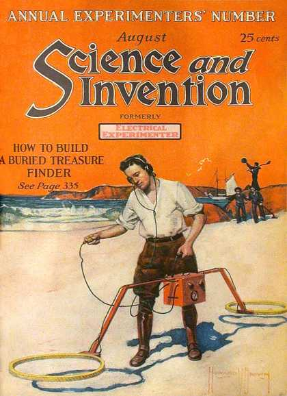 Science and Invention - 8/1921