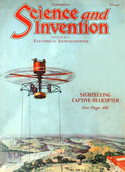 Science and Invention - 9/1921
