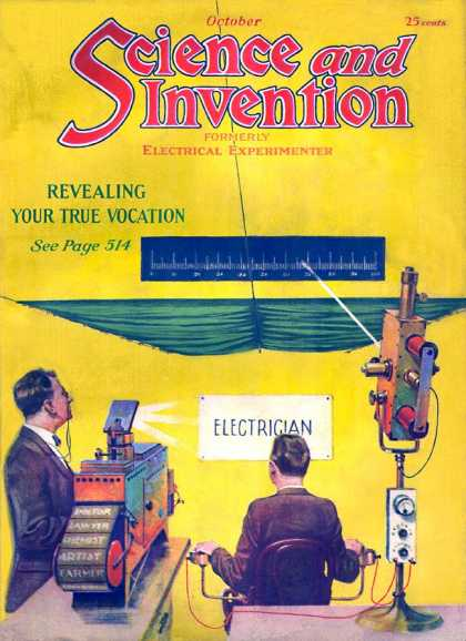 Science and Invention - 10/1921
