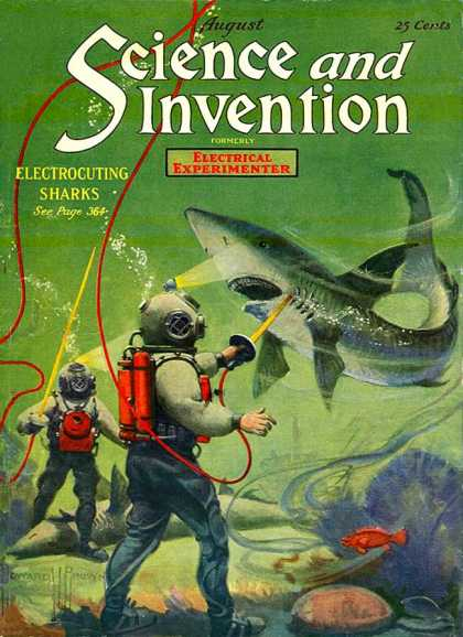 Science and Invention - 8/1920