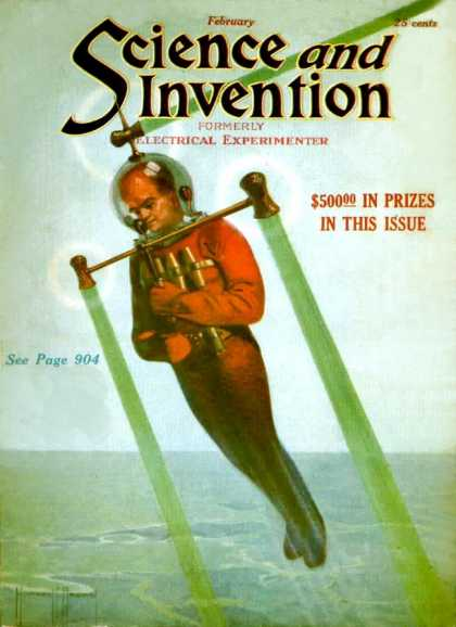 Science and Invention - 2/1922