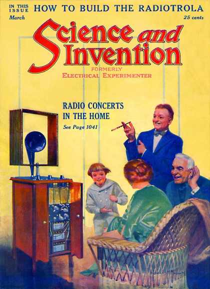 Science and Invention - 3/1922