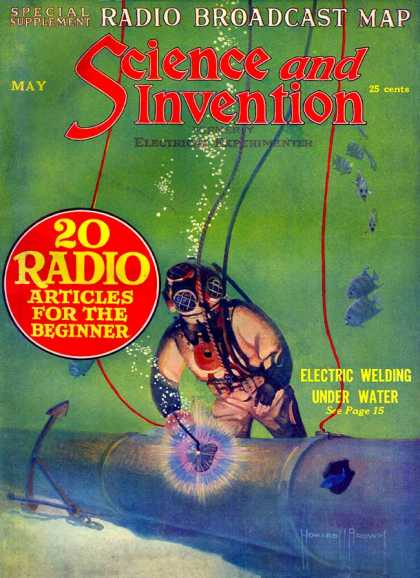 Science and Invention - 5/1922