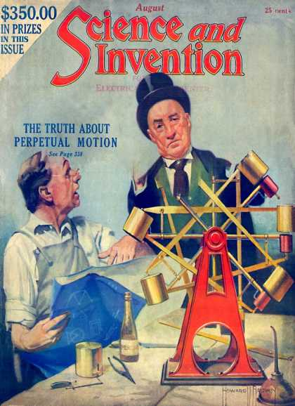 Science and Invention - 8/1922