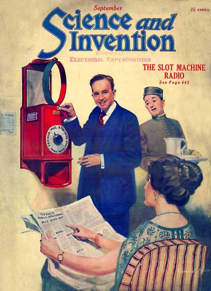 Science and Invention - 9/1922