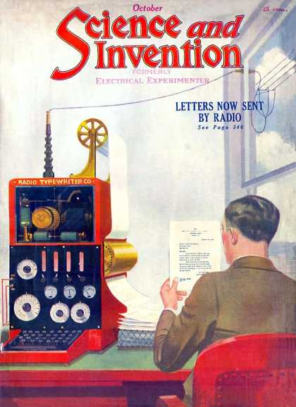 Science and Invention - 10/1922