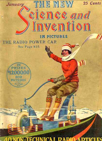 Science and Invention - 1/1924