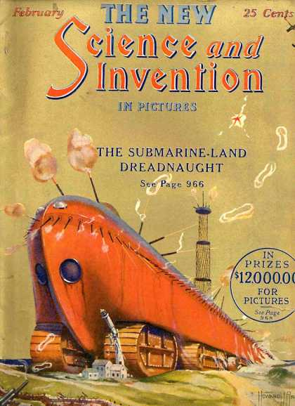 Science and Invention - 2/1924