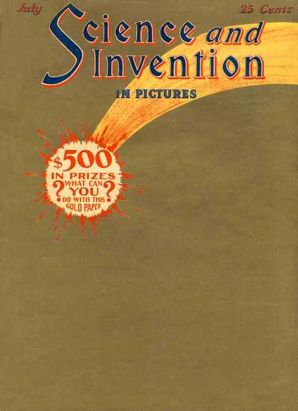 Science and Invention - 7/1924