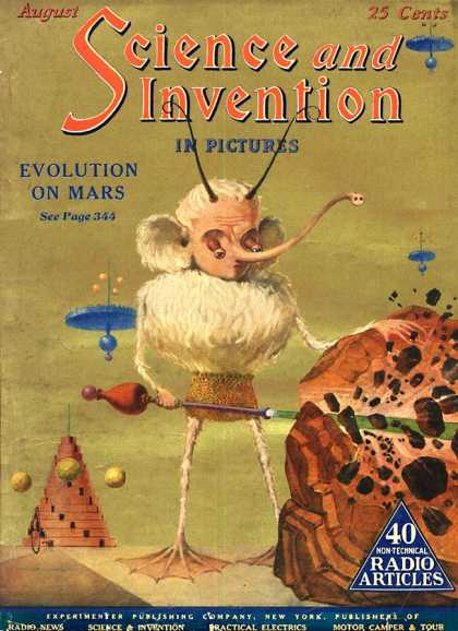 Science and Invention - 8/1924
