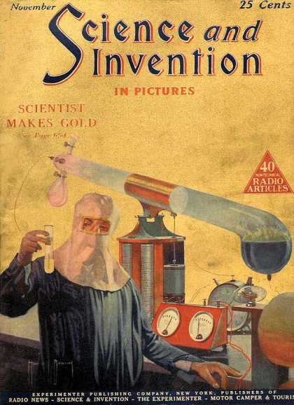 Science and Invention - 11/1924