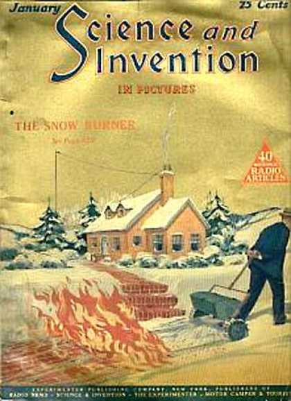 Science and Invention - 1/1925