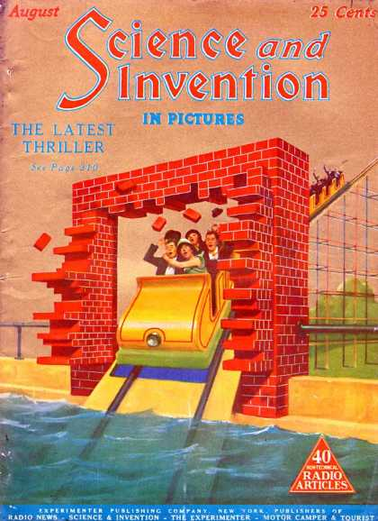 Science and Invention - 8/1925
