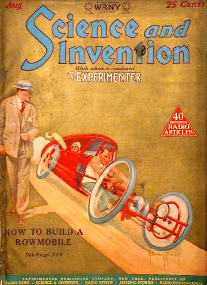 Science and Invention - 8/1926