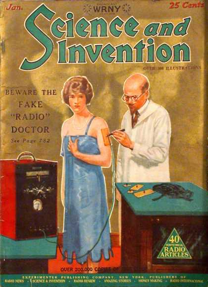 Science and Invention - 1/1927