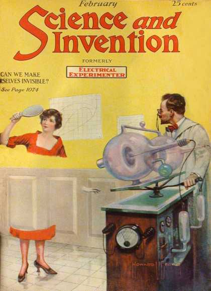 Science and Invention - 2/1921