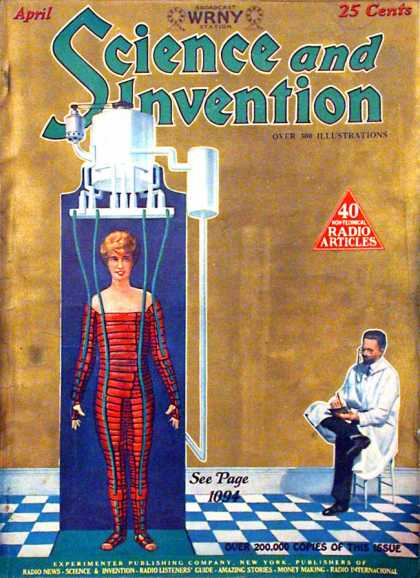 Science and Invention - 4/1927