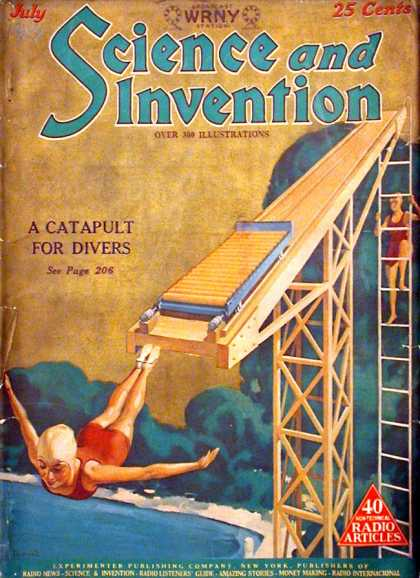 Science and Invention - 7/1927
