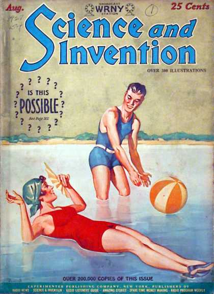 Science and Invention - 8/1927