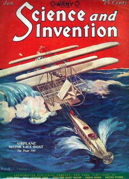 Science and Invention - 1/1928
