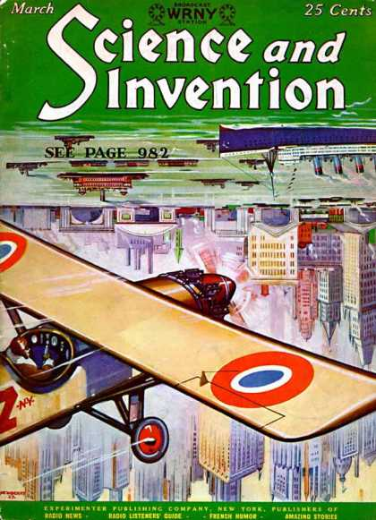Science and Invention - 3/1928
