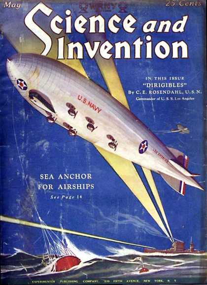 Science and Invention - 5/1928
