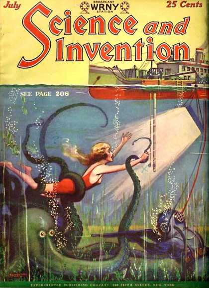 Science and Invention - 7/1928
