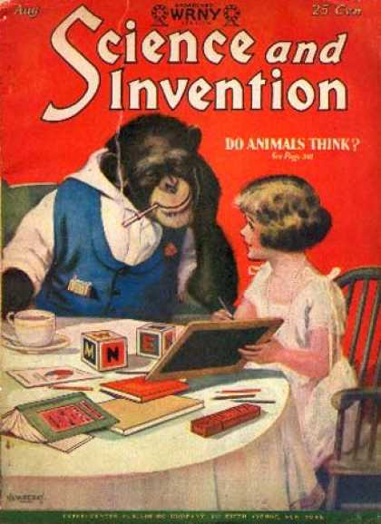 Science and Invention - 8/1928