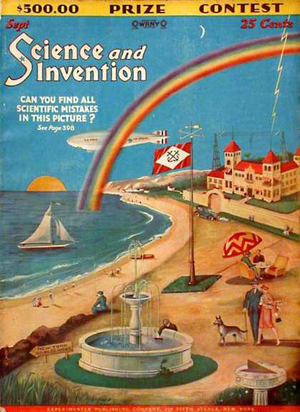 Science and Invention - 9/1928