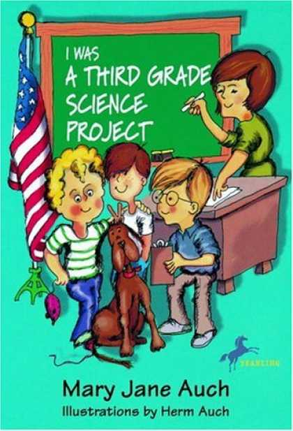 Science Books - I Was a Third Grade Science Grade Project