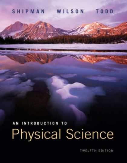 Science Books - An Introduction to Physical Science
