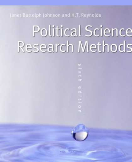 Science Books - Political Science Research Methods