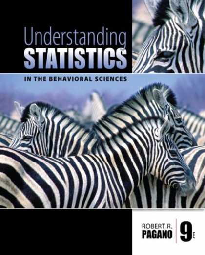 Science Books - Understanding Statistics in the Behavioral Sciences