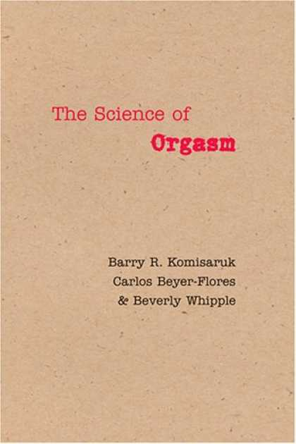 Science Books - The Science of Orgasm