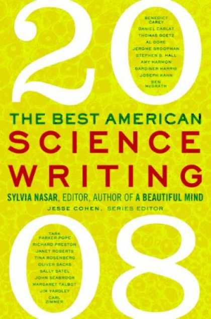 Science Books - The Best American Science Writing 2008