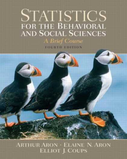 Science Books - Statistics for the Behavioral and Social Sciences (4th Edition)