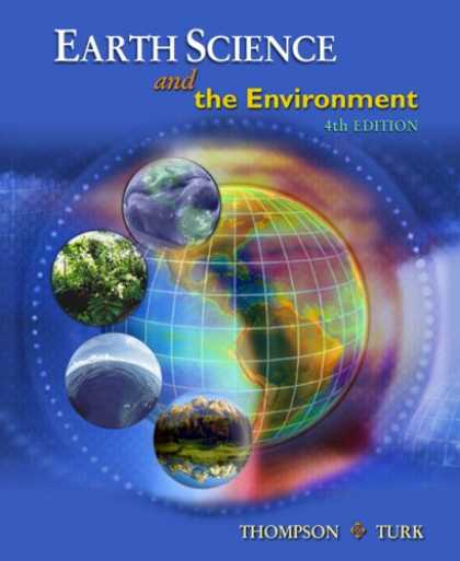 Science Books - Earth Science and the Environment (with CengageNOW Printed Access Card)