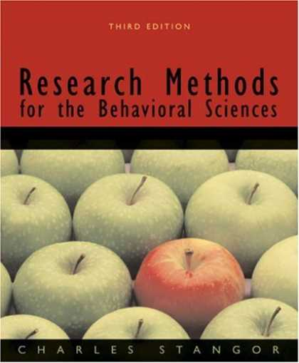 Science Books - Research Methods for the Behavioral Sciences