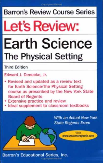 Science Books - Let's Review: Earth Science