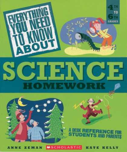 Science Books - Everything You Need...science To Know About Science Homework (Everything You Nee