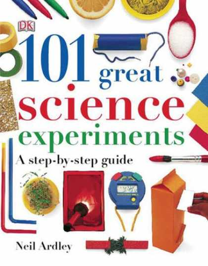 Science Books - 101 Great Science Experiments