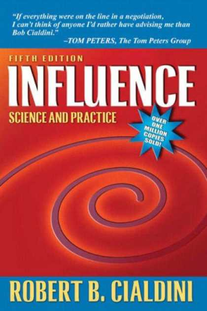 Science Books - Influence: Science and Practice (5th Edition)