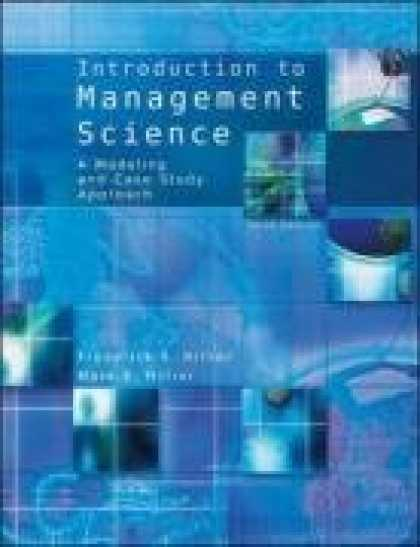 Science Books - Introduction to Management Science with Student CD