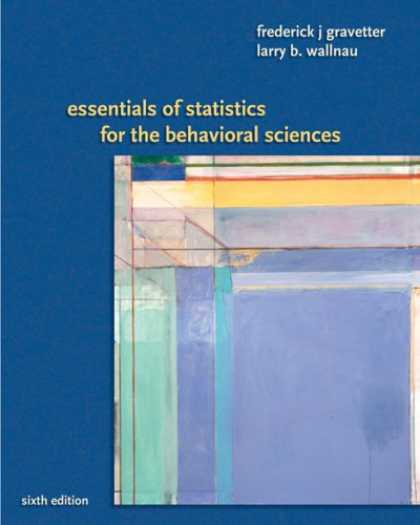Science Books - Essentials of Statistics for the Behavioral Science