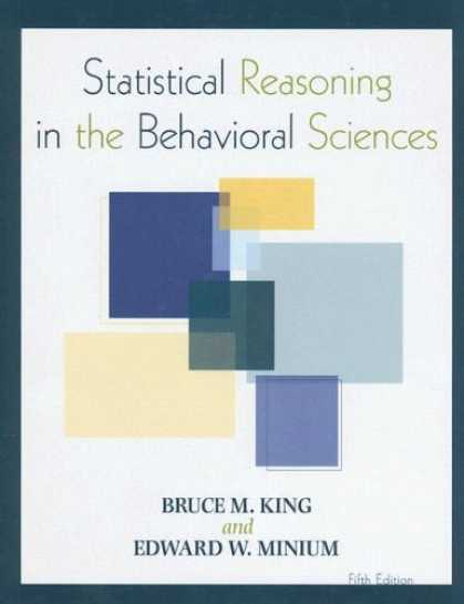 Science Books - Statistical Reasoning in the Behavioral Sciences