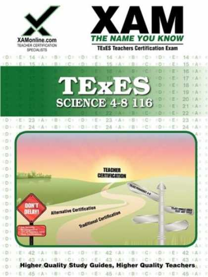 Science Books - TExES Science 4-8 116 (XAM TEXES)