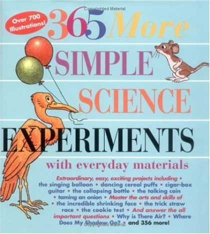 Science Books - 365 More Simple Science Experiments with Everyday Materials