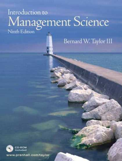 Science Books - Introduction to Management Science, 9th Edition (Book & CD-ROM)