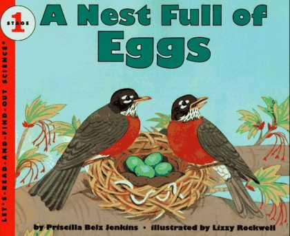Science Books - A Nest Full of Eggs (Let's-Read-and-Find-Out Science, Stage 1)