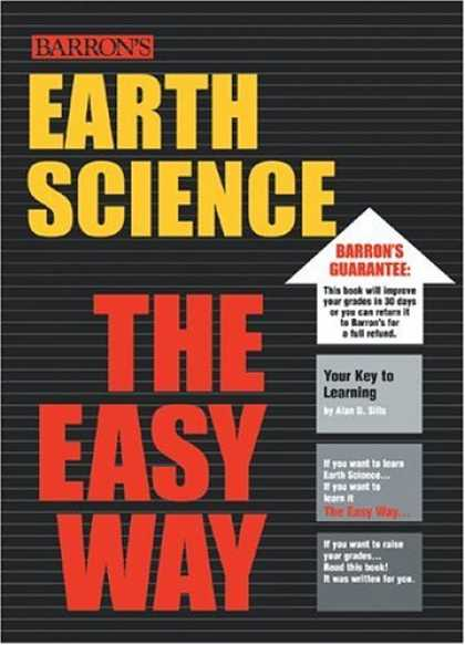 Science Books - Earth Science the Easy Way (Barron's E-Z Series)